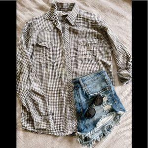 NWOT Urban Outfitters Light weight Gauze Shirt